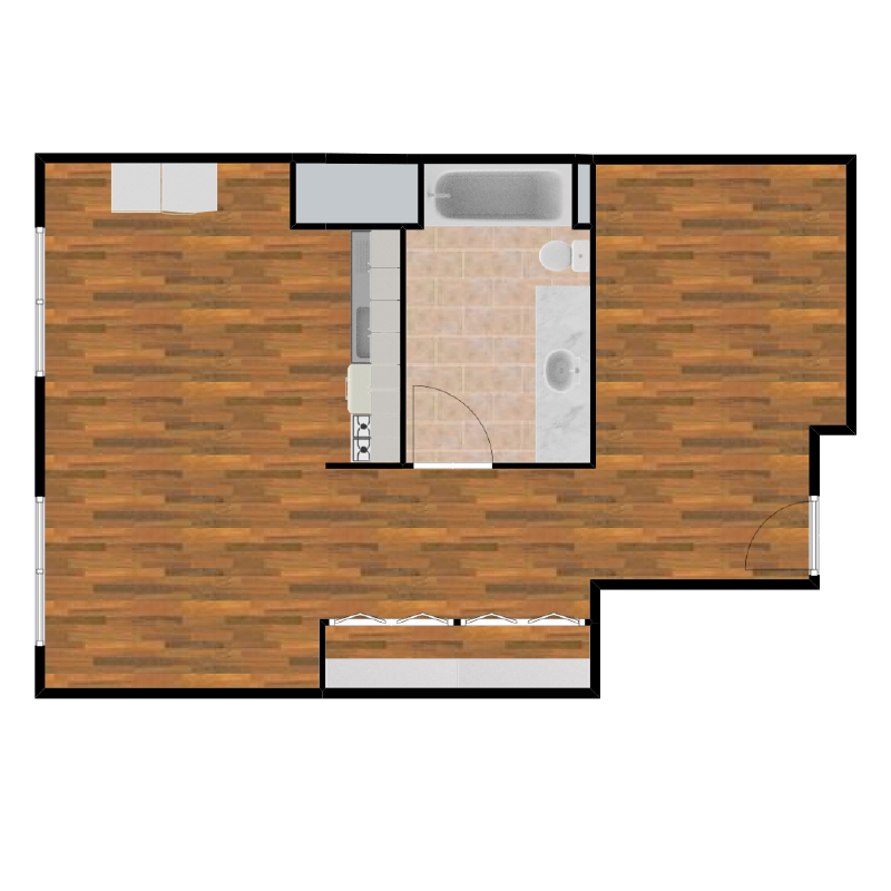Plan 2 - Viridian Loft Apartments